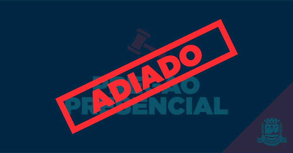 115/2019 – PREGÃO PRESENCIAL (ADIADO)