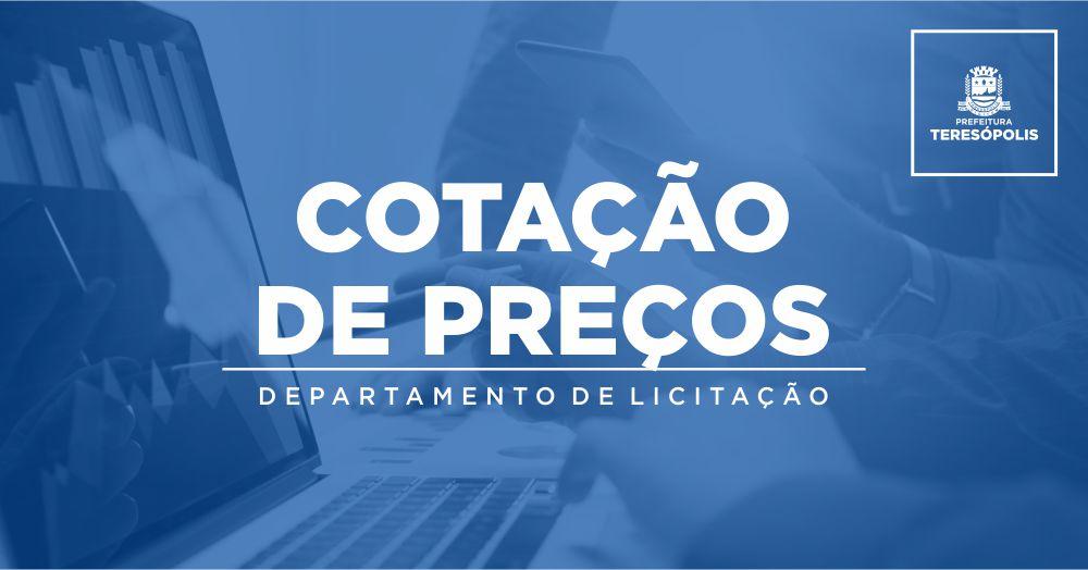 051/2021 – Intenção de Cotação e Futura Aquisição por Procedimento Licitatório